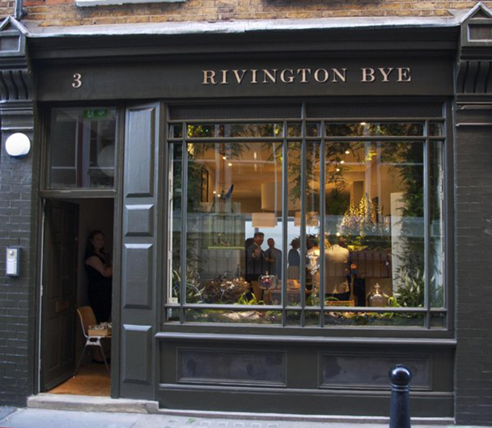 The launch of Rivington Bye